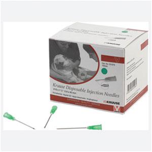 Needles Disp Kruuse 19g x 1 1/2in 100pk