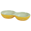 Pet Bowl Ceramic Cat Twin 2x200ml